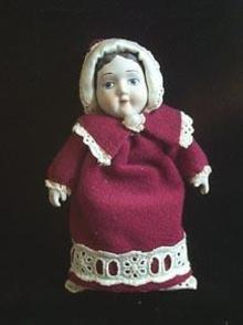 Hallmark Christmas Ornament - Porcelain Doll