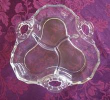 Cambridge Glass Divided Dish