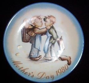 Mother's Day Plate Schmid/Hummel 1980