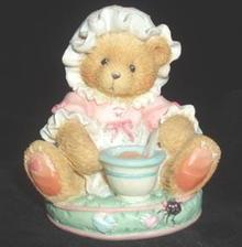 Cherished Teddies Figurine - Little Miss Muffett