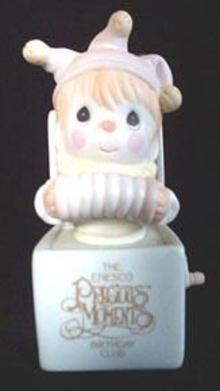 Precious Moments Charter Member Birthday Club Figurine - Jest to Let You Know You're Tops