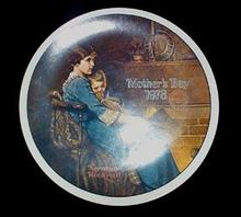Norman Rockwell/Knowles Mother's Day Plate -