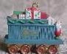 Hallmark  Gift Car 1991 Christmas Ornament