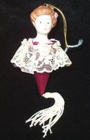 Victorian Lady  Hallmark Christmas Ornament 1985