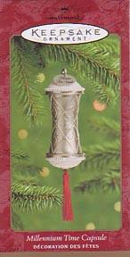 Hallmark Keepsake Ornament - Millennium Time Capsule
