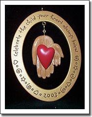 Hallmark Keepsake Ornament - Adoption 2003