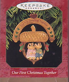Hallmark Ornament - Our First Christmas Together 1997