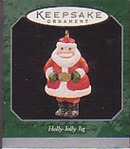 Hallmark Miniature Keepsake Ornament - Holly-Jolly Jig