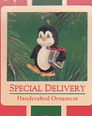 Hallmark Special Delivery 1986 Ornament