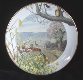 Paul Barrett Collector Plate - A Country Church
