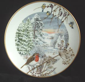 Paul Barrett Christmas Collector Plate -