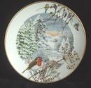 Paul Barrett Christmas Collector Plate -