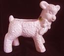 Planter Pink Lamb Haeger