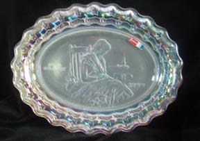 Fostoria Betsey Ross Plate