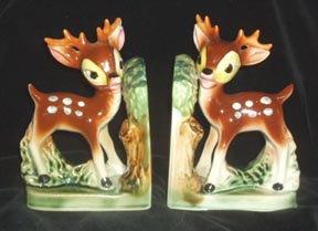 Bambi Bookends