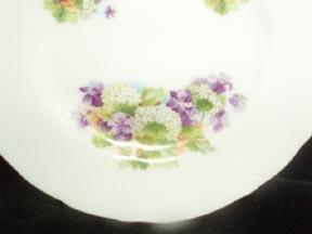 Bavarian Children's Dishes Violets