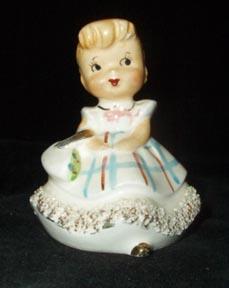 Girl Figurine Bell