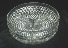 Thousand Eye Divided Glass Dish