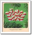 Hallmark Peppermint Ornament 1984