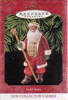 Hallmark Christmas Ornament - Joyful Santa