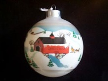 Hallmark Christmas Ornament - Grandparents 1982
