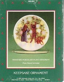 Hallmark Christmas Plate/Ornament - Light Shines at Christmas