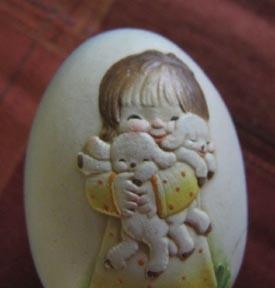Anri Jerrandiz Wooden Easter Egg