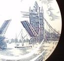 Tower Bridge  Plate Johnson Brothers