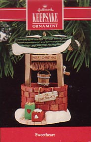 Hallmark Sweetheart Christmas Ornament 1990