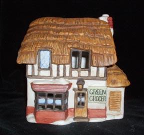 Dept. 56 Dickens Village Green Grocer