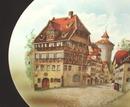 Old Nuremberg Albrecht  Durerhaus Plate