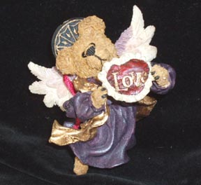 Boyds Bears Angel Ornament  - Love