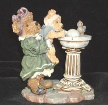Boyds Bears & Friends Bearstone Collection Sissie and Squirt