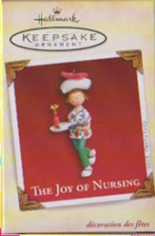 Hallmark Nurse Christmas Ornament - The Joy of Nursing 2005