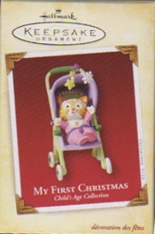 Hallmark  My First Christmas 2005 Girl