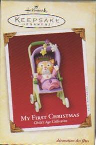 Hallmark  My First Christmas 2005 Girl