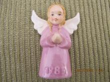 Goebel Annual Ornament 1985 Eighth Edition Angel