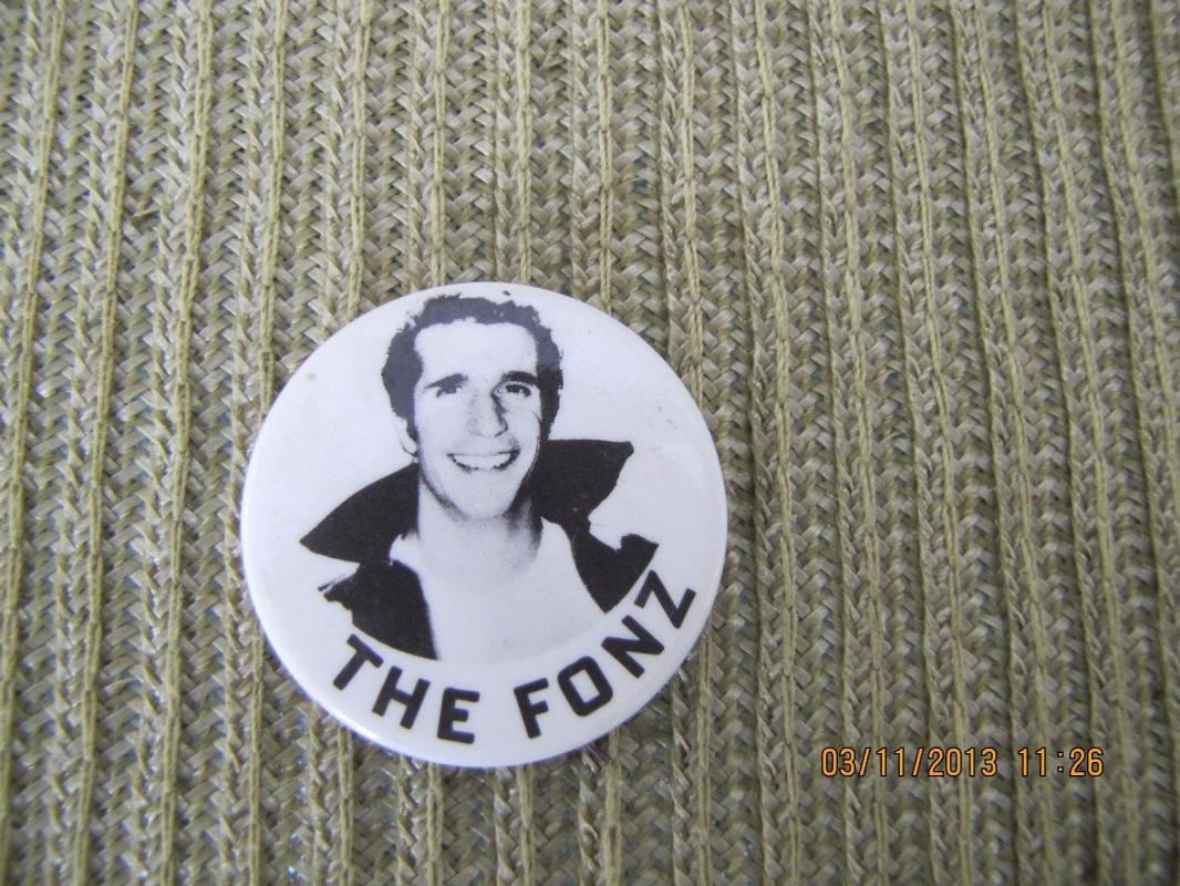 The Fonz Pin-Back Button