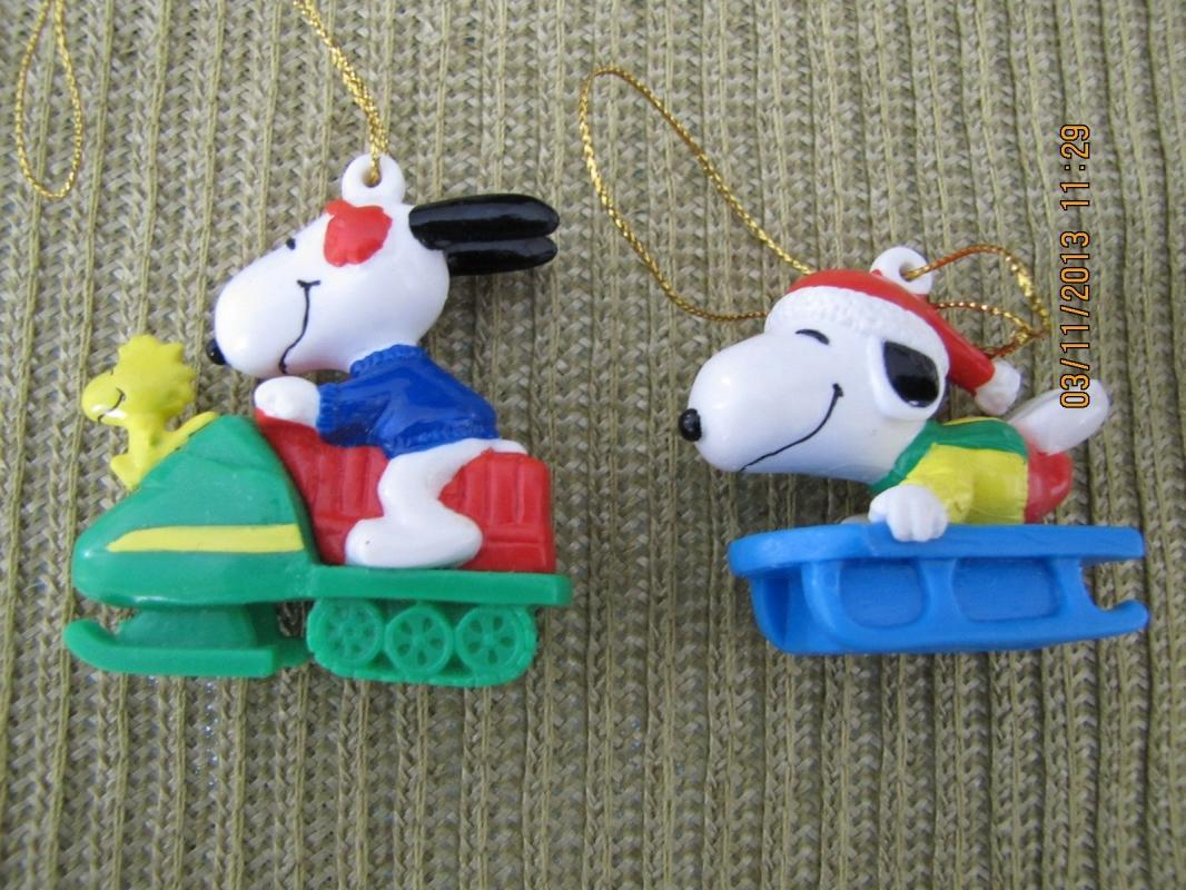 Snoopy Christmas Ornaments