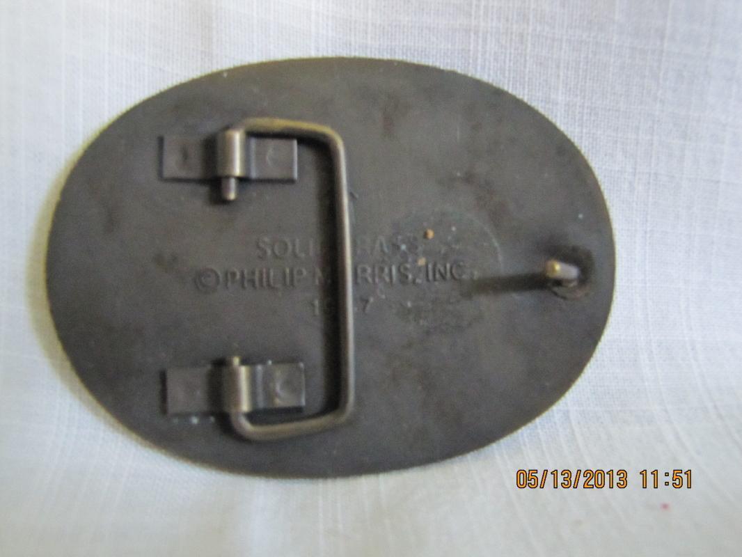 Marlboro Brass Belt Buckle