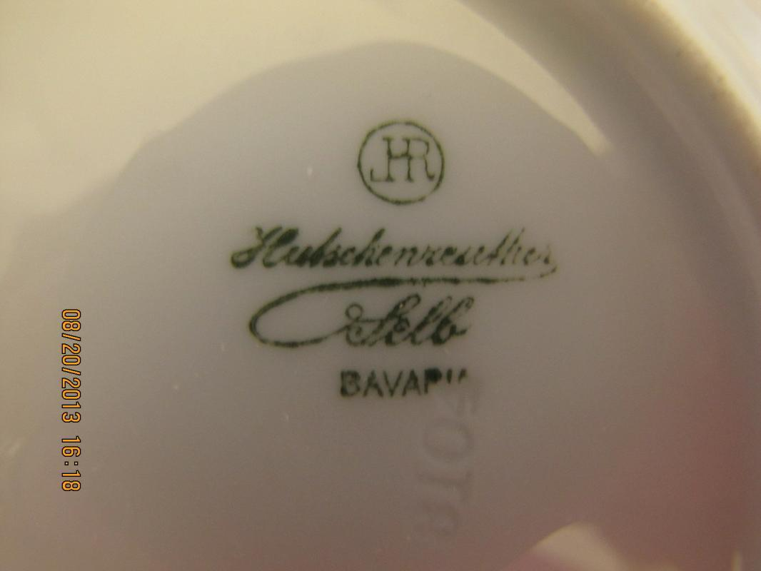 Hutschenreuther Selb Rose Plate