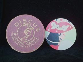 Discus Round Playing Cards
