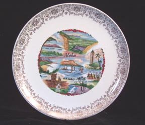 Souvenir Plate Hawaii