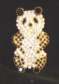 Panda Pin Rhinestones