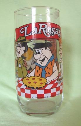 Flintstone Character Glass