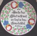 Villeroy and Bach Wallerfangen Antique Plate