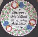 Villeroy and Bach Wallerfangen Antique Plate
