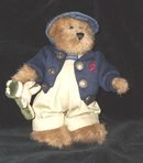 Boyds Bears Edmund with Frog  Plush