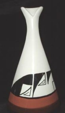 Ute Mountain Indian Pottery Vase