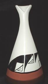 Ute Mountain Indian Pottery Vase